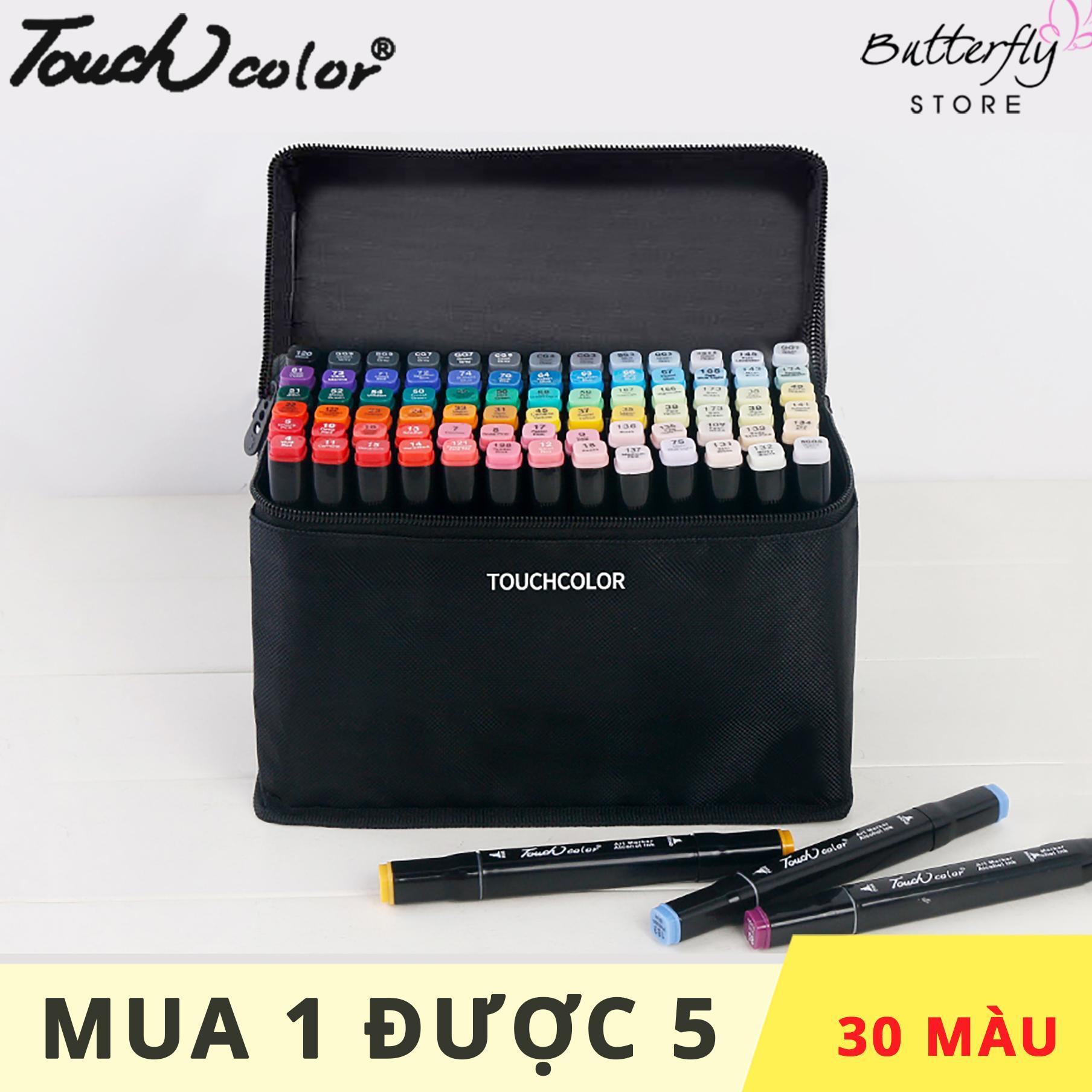 Mua TOUCH COLOR - Maker, bộ bút, viết vẽ mỹ thuật 30/40/60/80 Màu