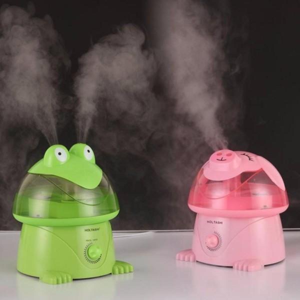 Máy phun sương hơi nước tạo ẩm hình thú Magic cao cấp loại 4 lít, May phun suong hoi nuoc tao am hinh thu Magic cao cap 4 lit