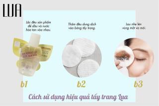 Tẩy Trang Mắt Môi LUA - LUA PerFect Lip Eye Remover thumbnail