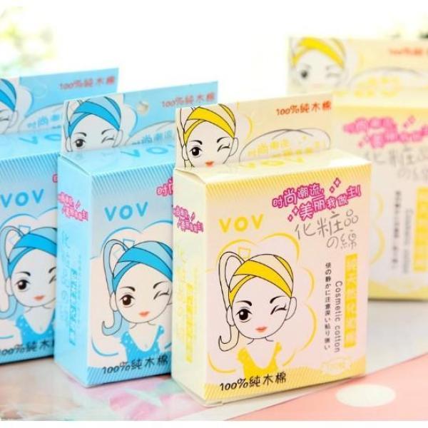 Combo 100 miếng bông tẩy trang VOV Hàn Quốc
