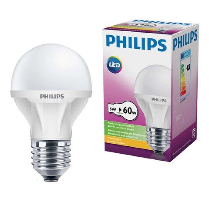 Bóng Ecobright LEDBulb 6-60W E27 6500K Philips