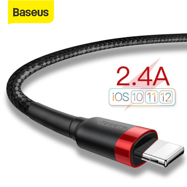 Giá Baseus USB To Lightning Cable for iPhone 2.4A Quick Charging Cable USB Lightning Fast Charging for iP Charger Wire