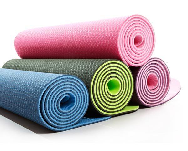 Bảng giá Thảm yoga ZERA MAT (8mm 2 lớp) vân dọc sâu tạo độ bám cao, màu bắt mắt