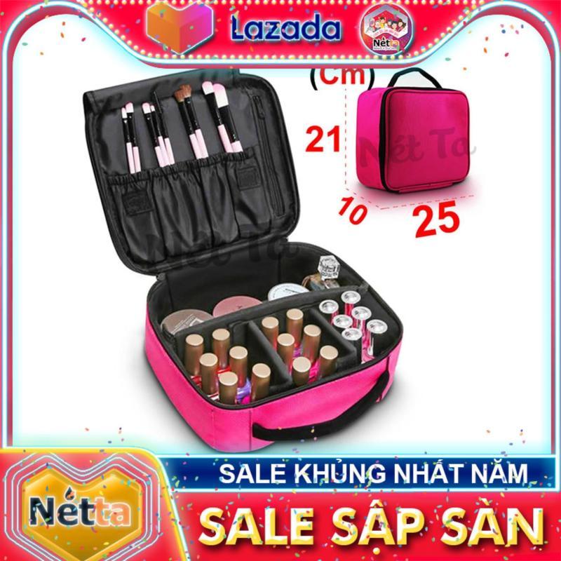 Túi đựng mỹ phẩm Nét Ta 252110 cốp đựng đồ trang điểm chống thấm nước, chống sốc 25cm nhập khẩu