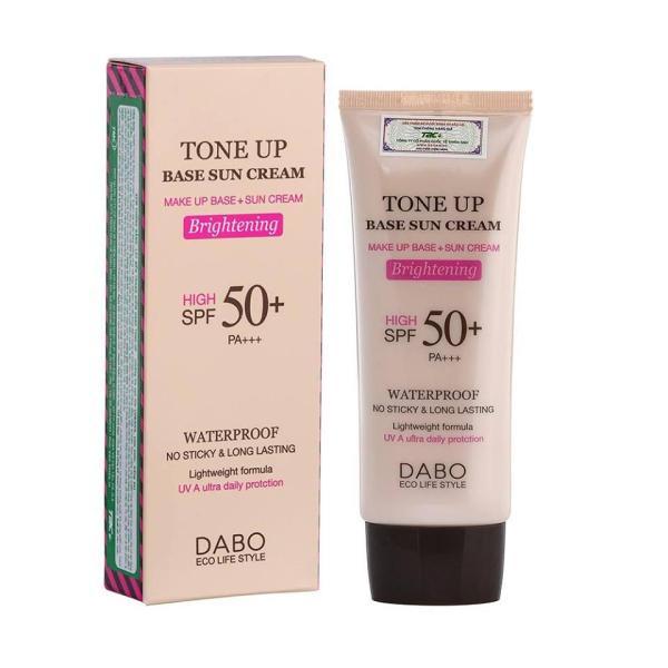 Kem chống nắng lót nền trang điểm Dabo Tone Up 70ml giá rẻ
