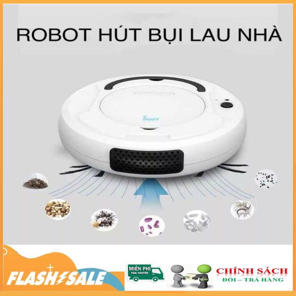 [ Hàng Chính Hãng Covideo ] Robot hút bụi Bowai thông minh, Robot lau nhà tự động công nghệ AI 3 trong 1 - không tiếng ồn, sạc qua cổng usb. - Center shop