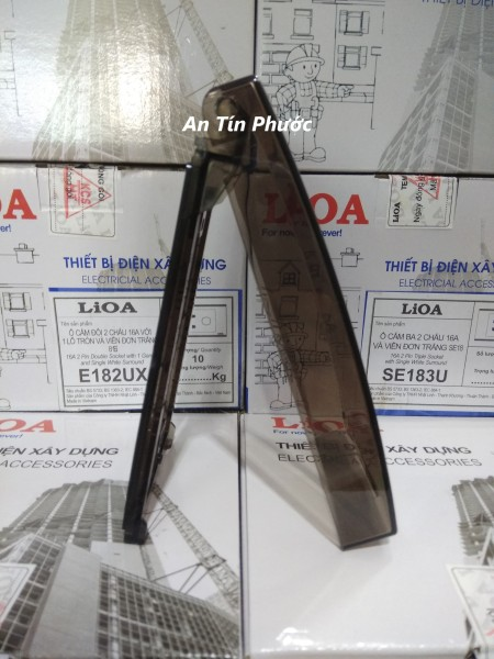 Mặt chống nước che mưa Lioa - Mặt che ổ điện ngoài trời LIOA