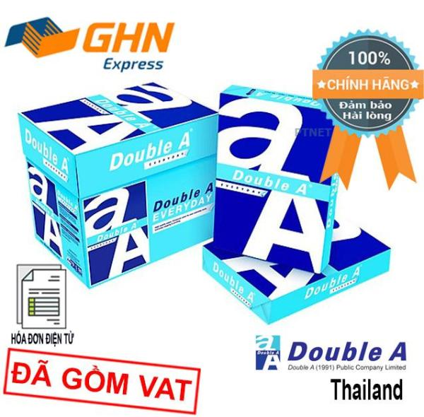Mua Giấy in cao cấp Double A A4 70gsm trắng mịn (500 tờ)