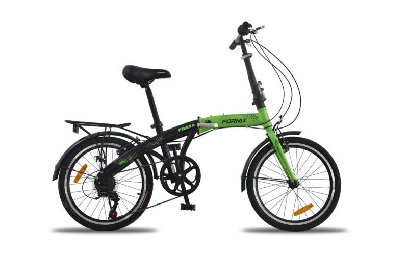 Mua Xe đạp gấp hiệu FORNIX PRAVA (NEW) bộ biến tốc Shimano 7 tốc độ, bánh xe 20inch, khung sắt sơn hấp cao cấp