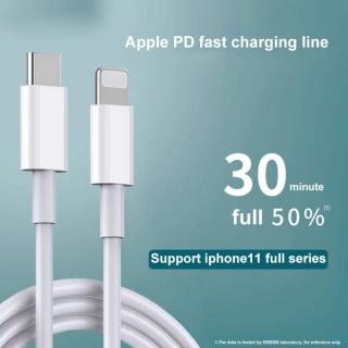 Cáp sạc PD Iphone 18w, cáp hỗ trợ sạc nhanh nhanh 18W cho Ip 8 X 11 pro promax dây cáp type c ra lightning với công nghệ PD siêu nhanh thumbnail