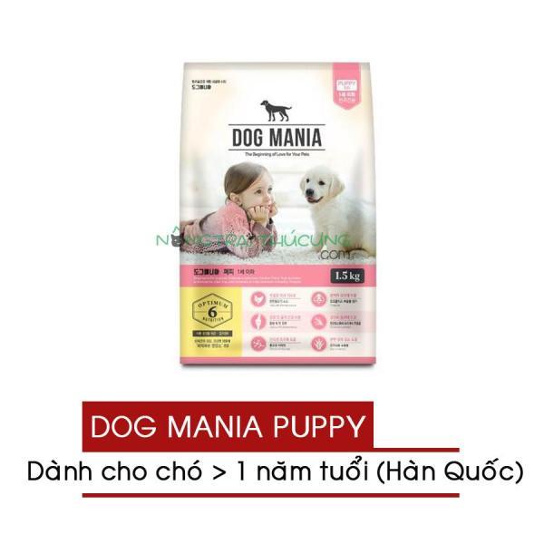 Thức ăn hạt cho chó con Dog Mania Puppy (nhập khẩu Hàn Quốc) - [Nông Trại Thú Cưng]