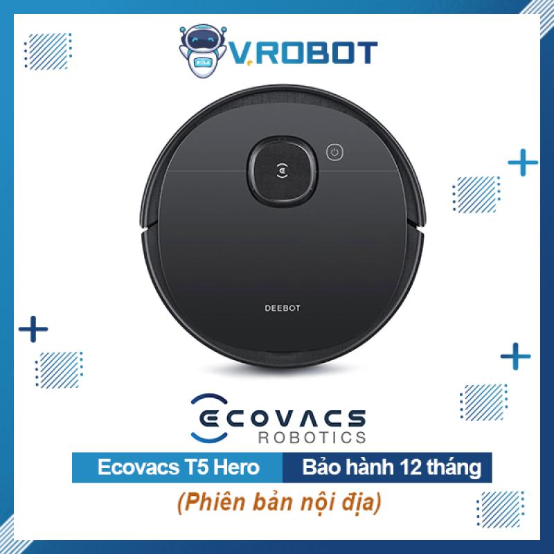 💥 SALE SẬP SÀN CHỈ HÔM NAY 💥 Ecovacs Deebot T5 Hero - Robot Hút Bụi - Robot lau nhà - Hàng Chính Hãng 💯