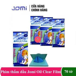 Combo 4 gói giấy thấm dầu ngăn ngừa mụn jomi oil clear film - 70 tờ, cam kết sản phẩm đúng mô tả, chất lượng đảm bảo an toàn đến sức khỏe người sử dụng thumbnail