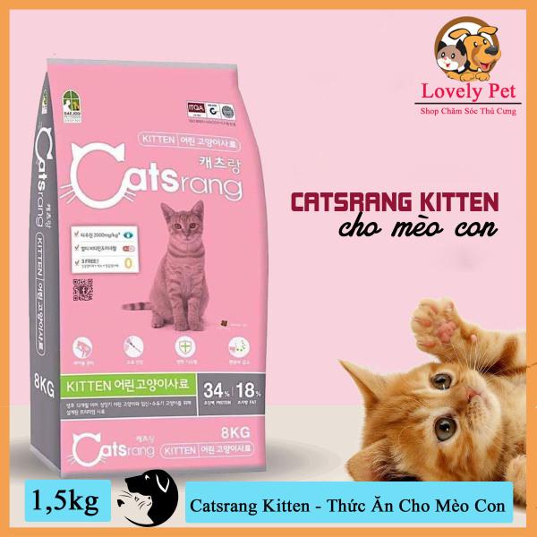 Catsrang Kitten - Thức Ăn Cao Cấp Dành Cho Mèo Con
