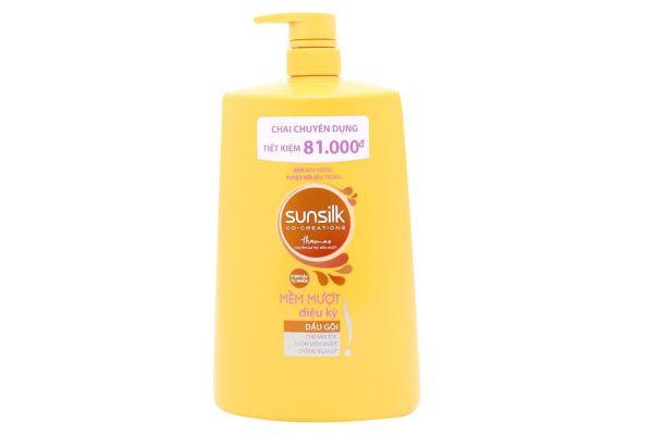 Dầu gội Sunsilk óng mượt rạng ngời (1.4kg) - vàng cao cấp