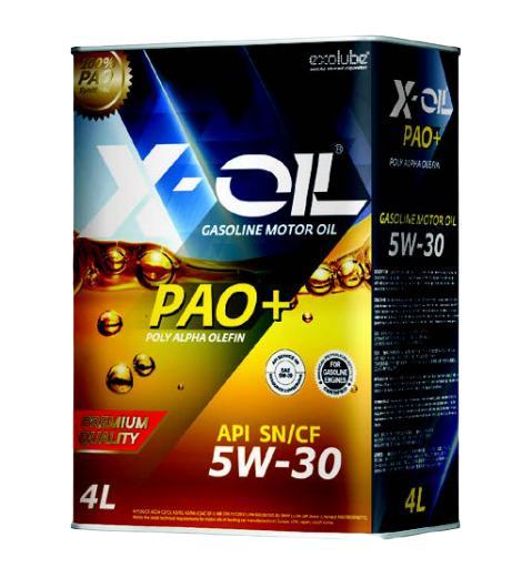 DẦU NHỚT X OIL PAO LS C2 C3 5W-30