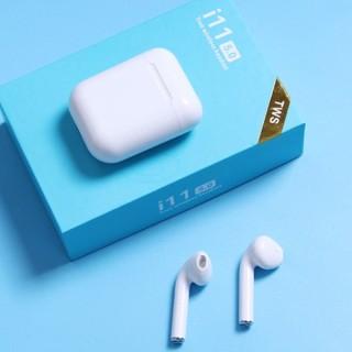 Tai Nghe Bluetooth Không Dây i11 Bản Plus Âm Thanh v5.0 Nút Cảm Ứng, Tai Nghe Không Dây, Tai Nghe Bluetooth Hỗ Trợ Mọi Điện Thoại Cảm Ứng, Tai nghe nhạc thumbnail