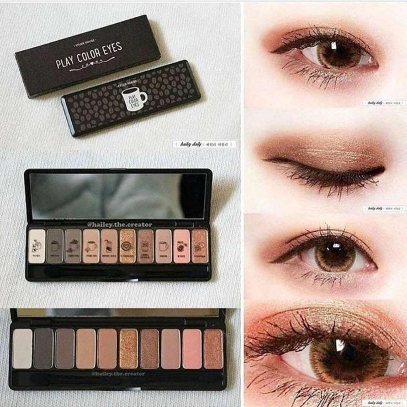 Bảng phấn mắt Etude House Play Color Eyes In the Cafe