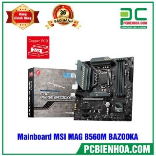 Mainboard MSI MAG B560M BAZOOKA ( LGA1200 M-ATX 4xDDR4 ) thumbnail