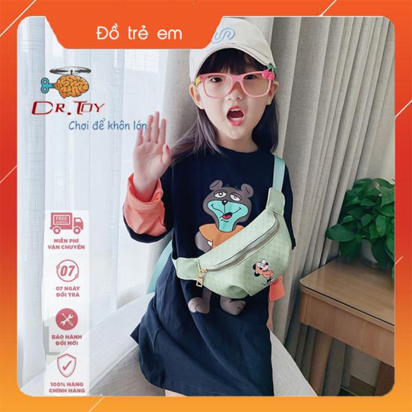 Giá bán DrToy - Túi đeo chéo thời trang Hàn Quốc cho bé gái, sành điệu và năng động. Mẫu mới nhất 2020 cho bé đi dạo phố, du lịch