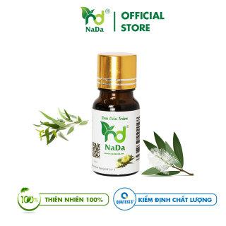 [HCM]Tinh dầu Tràm nguyên chất Nada Kiểm định QT3 Tránh gió Sát khuẩn Giữ ấm thumbnail