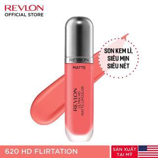 Son kem lì siêu nét Revlon Ultra HD Matte Lipcolor 5.9ml - Hạn sử dụng dưới 1 năm thumbnail