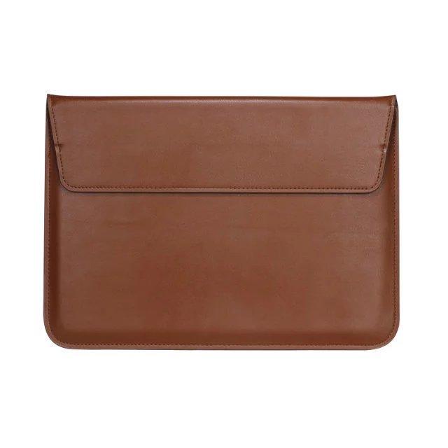 ใช้ Macbook Air Pro Retina 11/12/13/15 นิ้วเคสกระเป๋าตัวยึด Mac ซองหนัง.