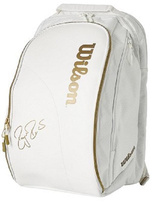 Bảng giá Balo tennis Wilson Federer DNA Gold-White cao cấp
