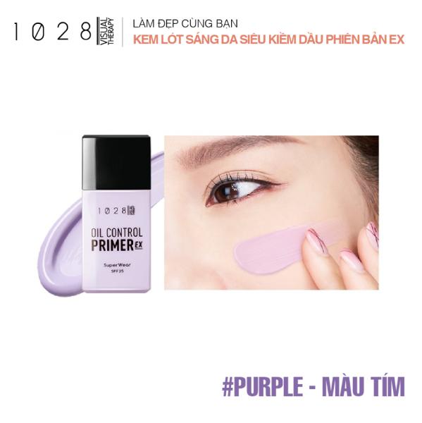 Kem Lót Sáng Mịn Da Che Khuyết Điểm 1028 SuperWear Oil Control Primer EX (01 Pink, 02 Purple, 03 Green) giá rẻ