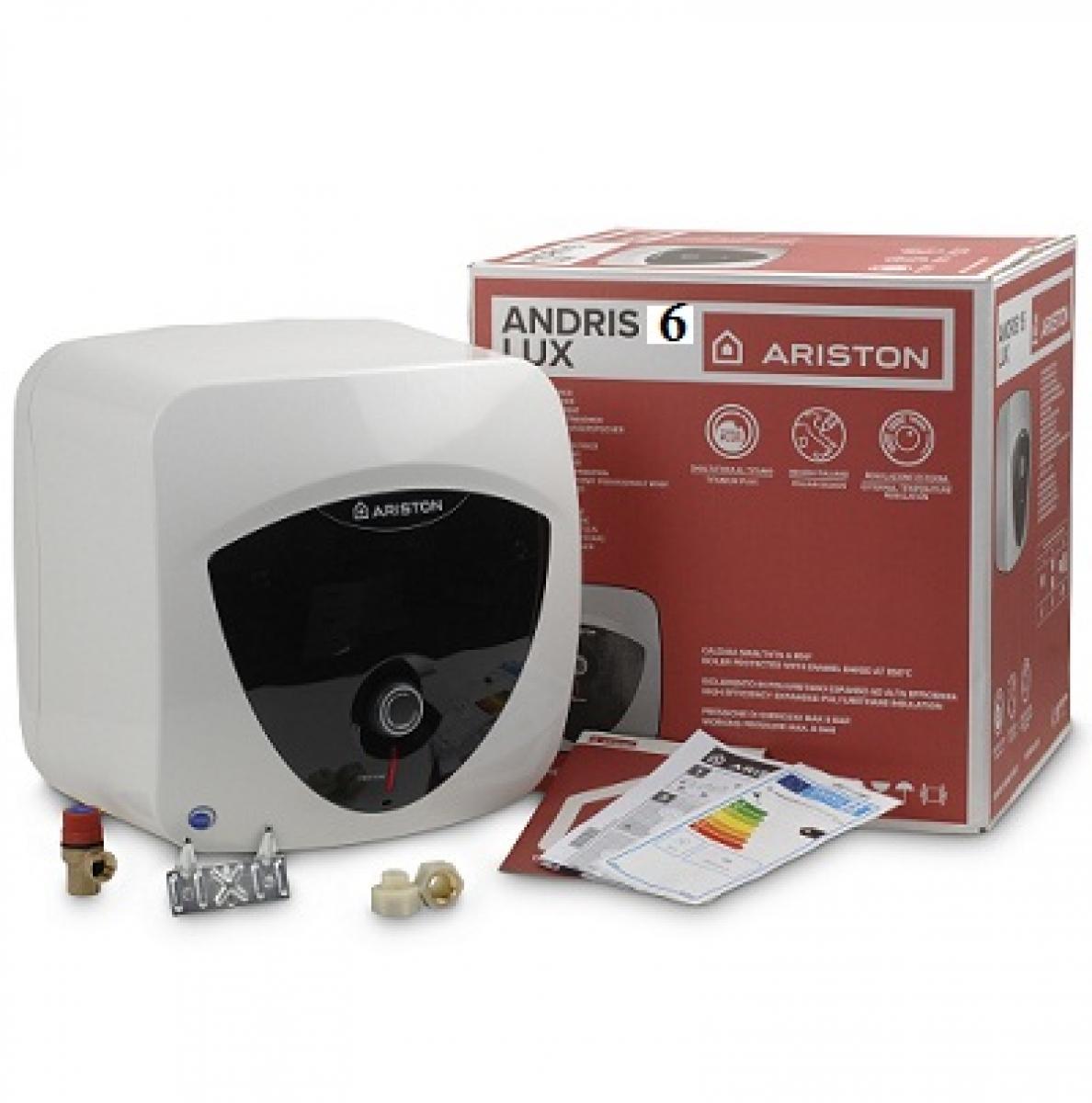 Bảng giá Bình nóng lạnh 6L Ariston Adris Lux AN6LUX UE 1.5 FE ( lắp tủ bếp trên )