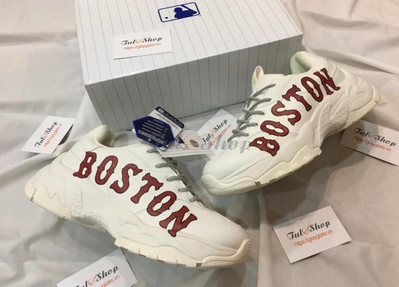 Giày SNEAKER MLB Newyork Yankees BOSTON Trắng Hót Nhất Năm 2020 giá rẻ