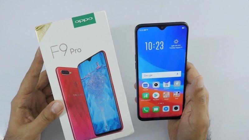 Điện thoại OPPO_F9 Pro Ram 6G ( Tặng sạc dự phòng )
