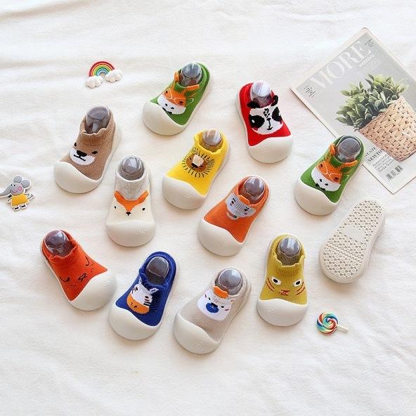 Giày bún tập đi cho bé - Giày bún đế mềm cho bé giá rẻ