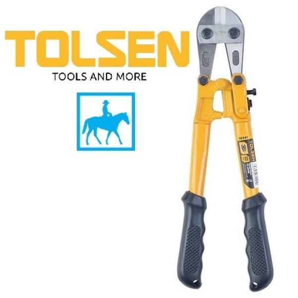 [Thu thập mã giảm thêm 30%] Kềm kìm cộng lực kéo cắt sắt 12inch 300mm bolt cutter Tolsen 10241 chất liệu cao cấp bền bỉ chống va đập thiết kế chắc chắn đảm bảo an toàn cho người sử dụng