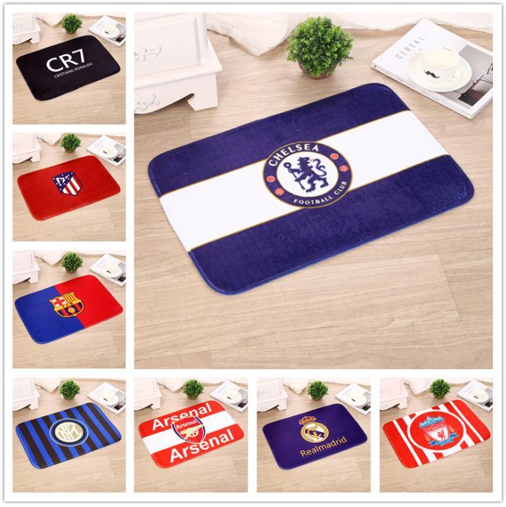 Giá Ưu Đãi Hôm Nay Để Có Ngay Thảm Logo Chelsea, MU, Real, Barca, Arsenal, Liverpool