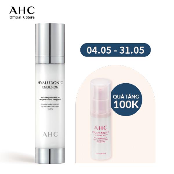 Sữa Dưỡng Cấp Nước AHC Hyaluronic Emulsion 100ml giá rẻ