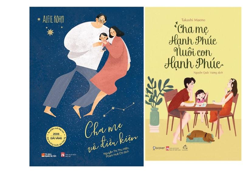 nguyetlinhbook - Combo 2 Cha mẹ vô điều kiện và Cha mẹ hạnh phúc nuôi con hạnh phúc