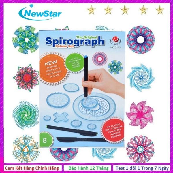 Mua Bộ thước vẽ họa tiết sáng tạo Spirograph No 2143