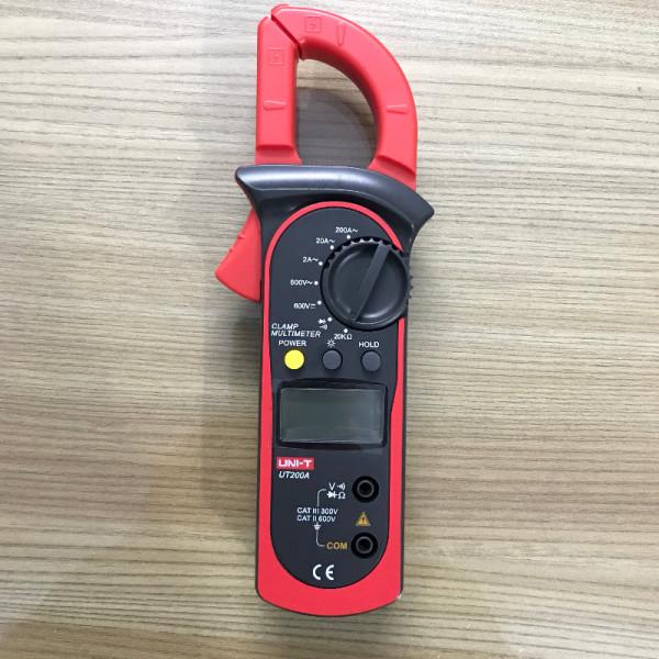 Ampe kìm đo dòng điện UNI-T UT200 - Hàng chính hãng