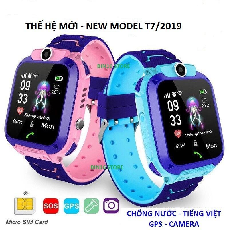 Đồng Hồ Định Vị Trẻ Em A28, Có Tiếng Việt, Chống Nước Ip 67, GPS, Camera, Nghe Gọi Hai Chiều,,,New Model 7/2019 bán chạy