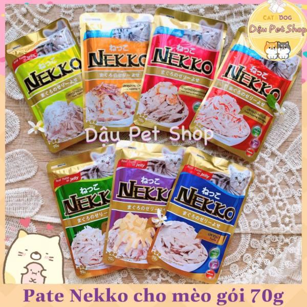 Pate Nekko Thái Lan cho mèo gói 70g