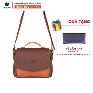 Túi đeo chéo thời trang nữ YUUMY YN31 (Tặng ví cầm tay YV11 ) thumbnail