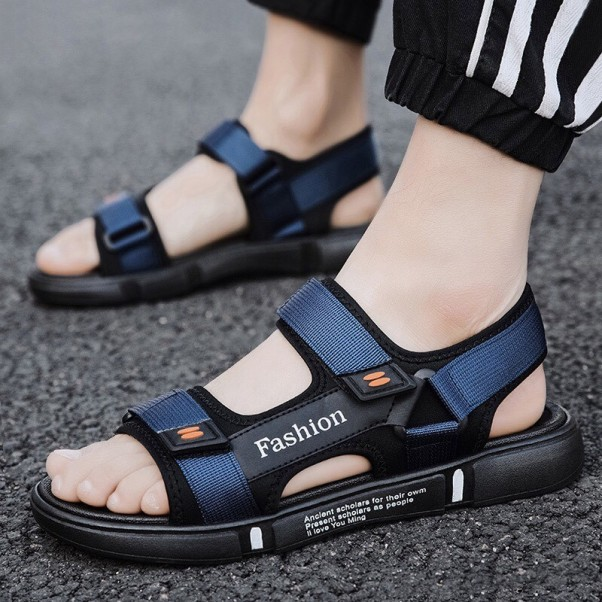 Sandal nam Fashion 2 quai đế chống trơn giá rẻ