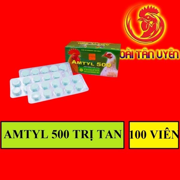 AMTYL 500 sỗ mũi khò khè, tiêu chảy