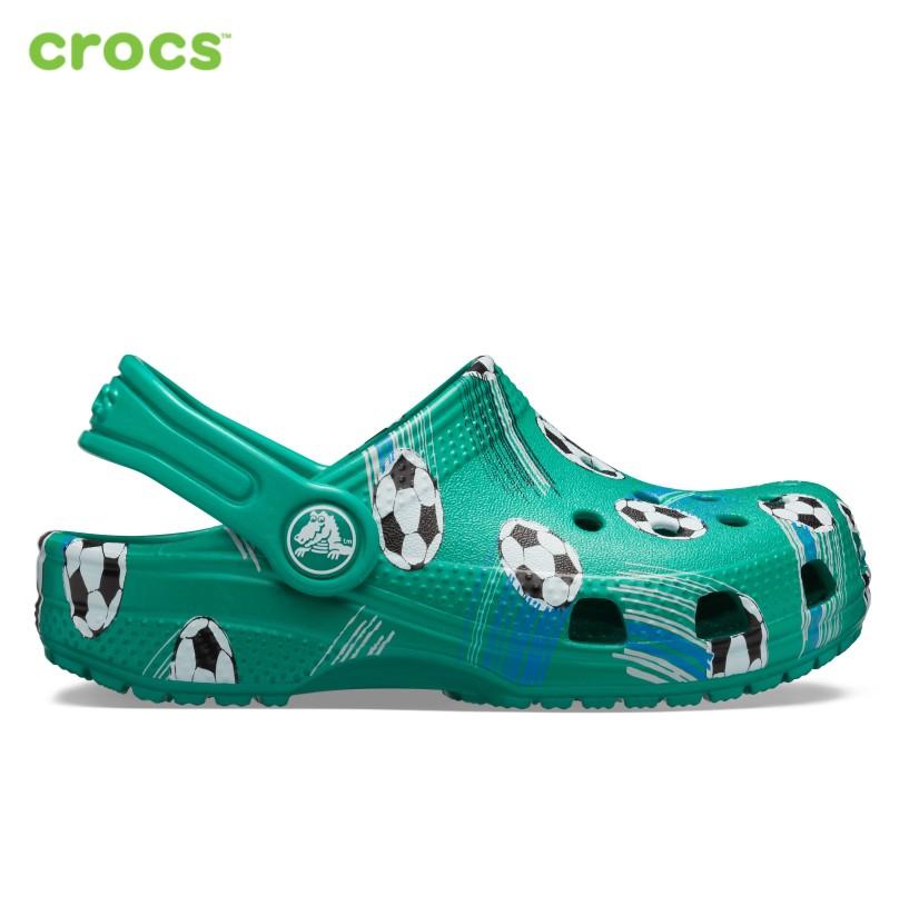 Crocs Giày Clogs Trẻ Em Classic Sport Ball 206417 giá rẻ