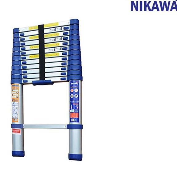 Thang nhôm rút đơn Nikawa NK-38
