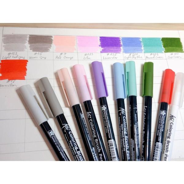 Mua [ Cây lẻ ] Bút Cọ Màu Nước SAKURA Koi - Coloring Brush Pen