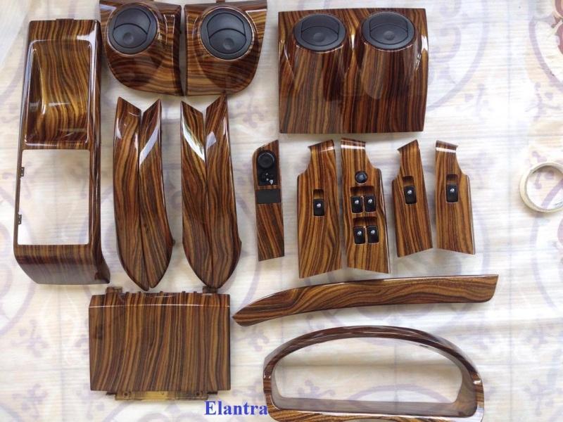 Sơn nhúng giả vân gỗ, vân đá, carbon