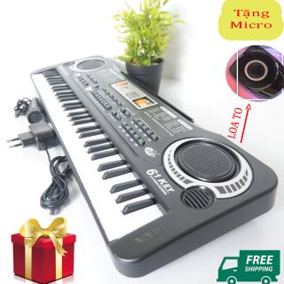 Đàn piano giá rẻ 2021 - Đàn Organ - Đàn Piano 61 phím - Đàn Đánh hợp âm hoặc đơn âm - Lập trình nhịp điệu - Ghi âm và phát lại. thumbnail