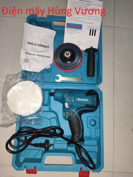 Máy đánh bóng Makita GV6010, 600W, dây đồng, Made in Thái lan,điều chỉnh tốc độ 6 cấp, đế 5in 125mm, M14. đánh bóng xe hơi, đồ nhựa, đồ gỗ...